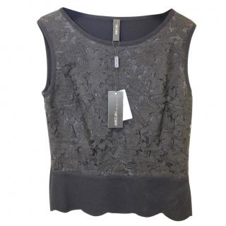 Marc Cain Floral Lace Tank Top