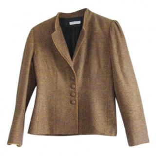 Caroline Charles wool/silk jacket