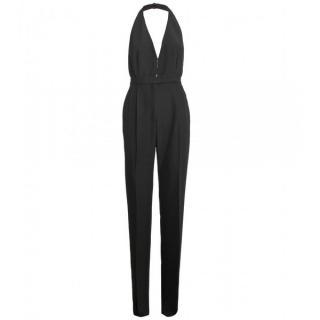 Valentino Silk Blend Halterneck Jumpsuit