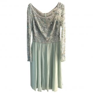 Jenny Peckham silk hand embroidered dress
