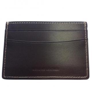 G Collins leather credit card holder