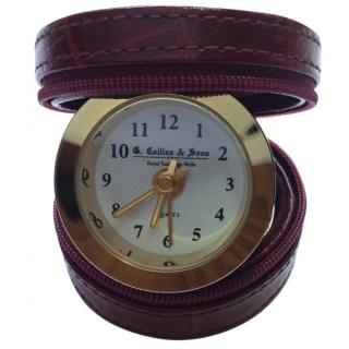 G Collins travel clock