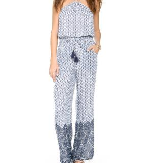 Tory Burch Floral Jumpsuit