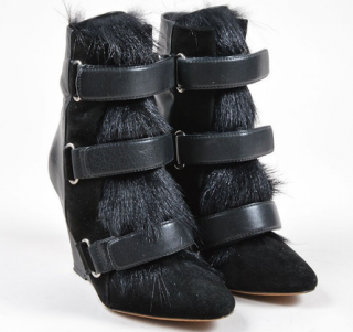 Isabel Marant Pierce Wedge Boots