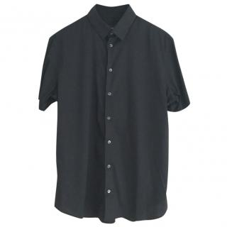 Giorgio Armani black  short sleeve shirt