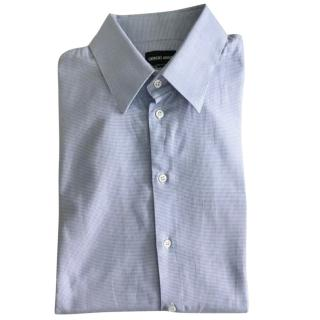 Giorgio Armani light blue shirt