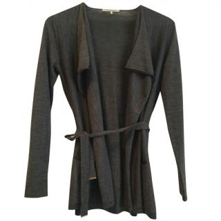 Gerard Darel grey t-shirt and cardigan set