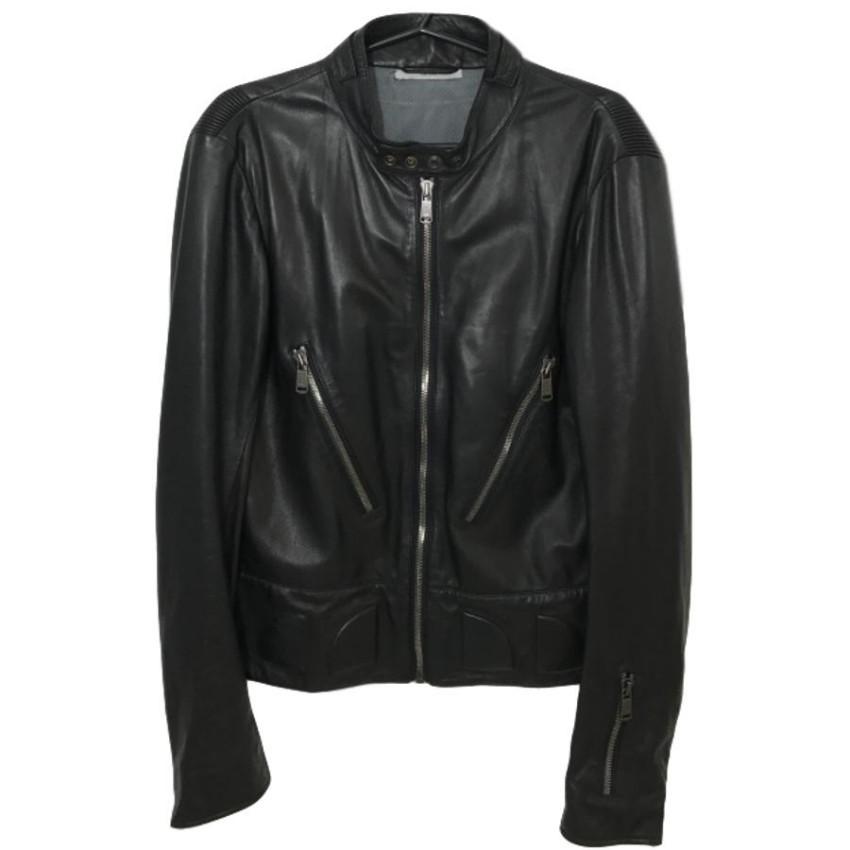 e777f5ffec YSL Leather Biker Jacket