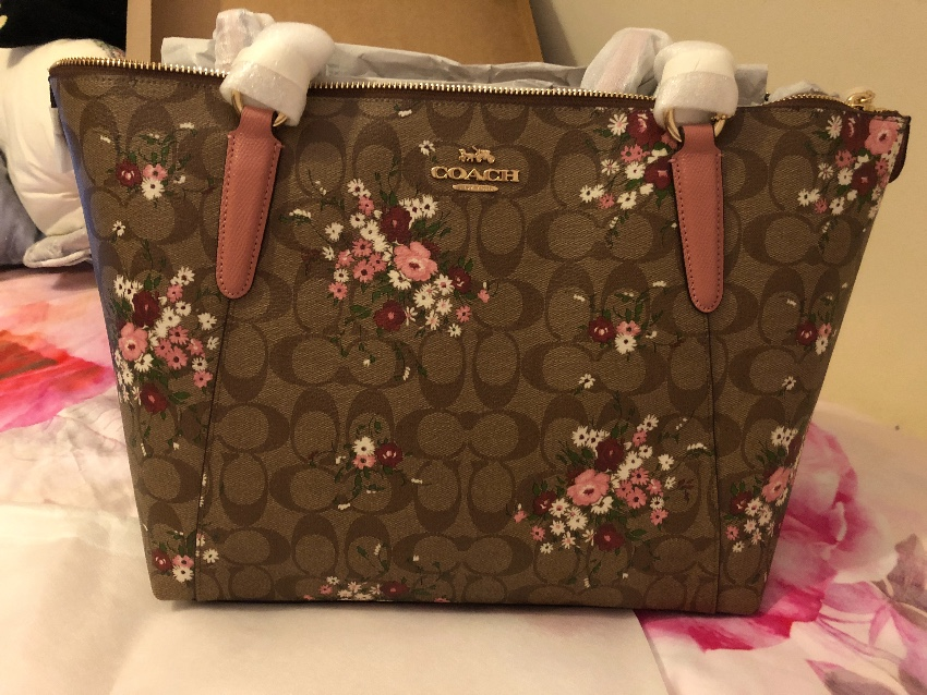 83c7fb6850 Coach Floral Bag