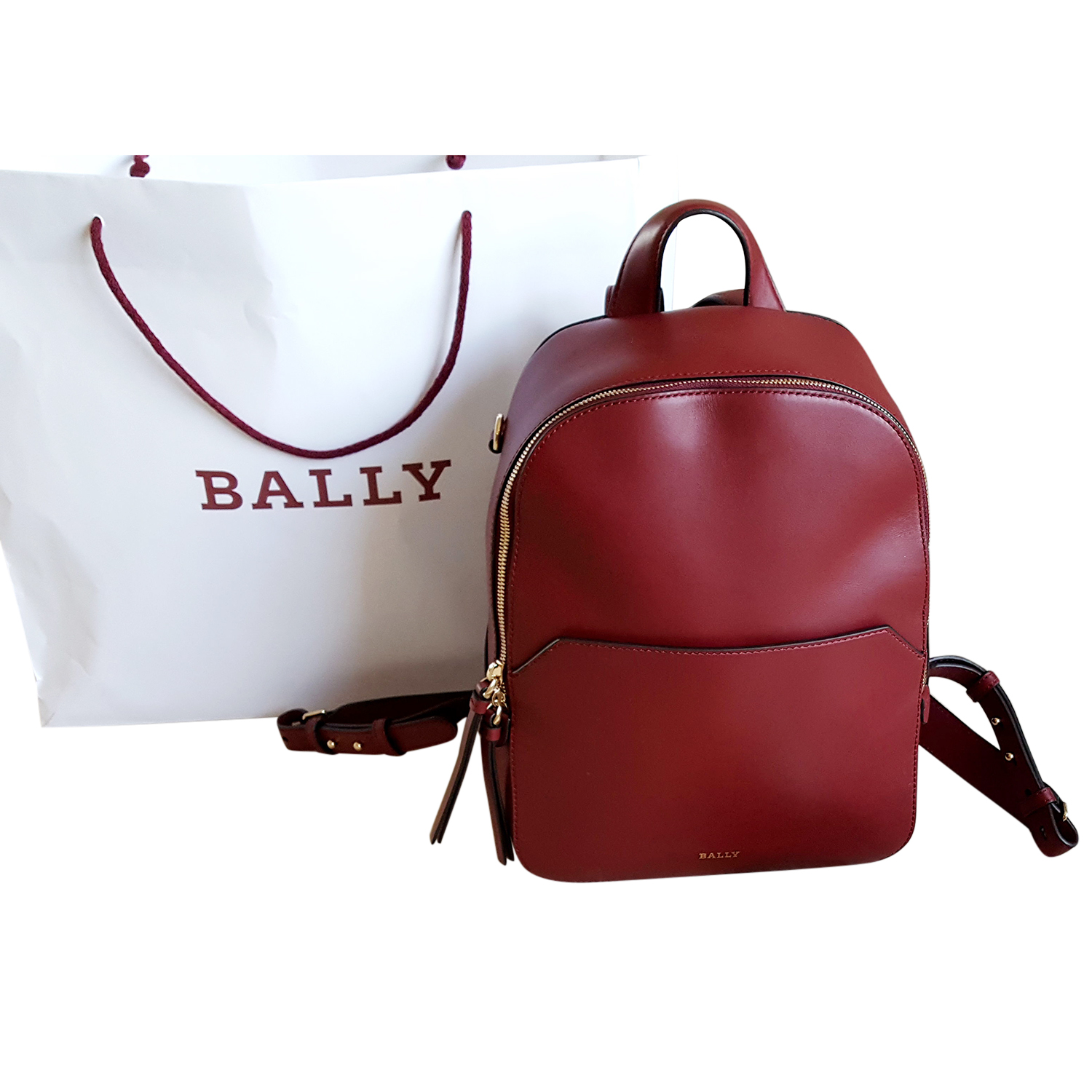 241a0bec09 Bally Red Backpack