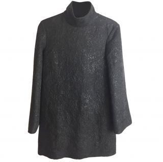 Yves Saint Laurent Black A line dress