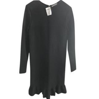 Celine Black Long Sleeved Dress