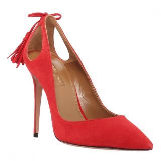 Aquazurra red Stilettos UK 5/ Euro 38