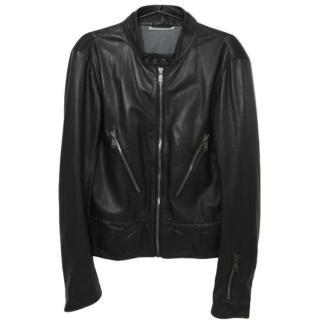 YSL Leather Biker Jacket