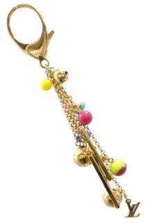 LOUIS VUITTON Porte Cles Grelot Bag Charm Key Holder Brass M62227