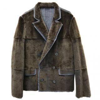 Lanvin Marten Fur Jacket