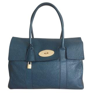 Mulberry Grained Leather Bayswater Tote