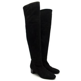 Tom Ford Over The Knee Suede Boots