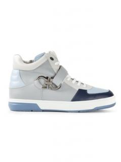 Salvatore Ferragamo 'Nayon' hi-top sneakers