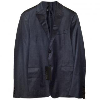 Z Zegna Drop 7 Deco exclusive fitted wool suit