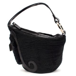 Fendi Calf Hair Saddle Bag