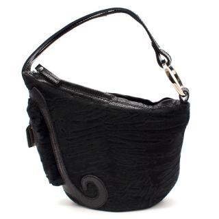 Fendi Calf Hair Saddle Bag