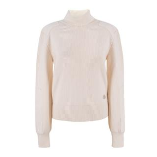 Moncler Gamme Rouge Wool & Cashmere Turtleneck Sweater