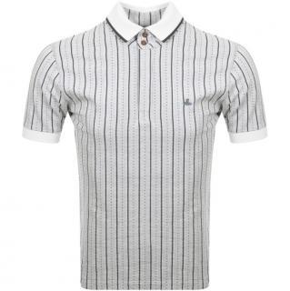 Vivienne Westwood Jacquard Stripe Polo T Shirt
