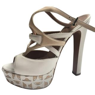 Alaia Strappy Sandals