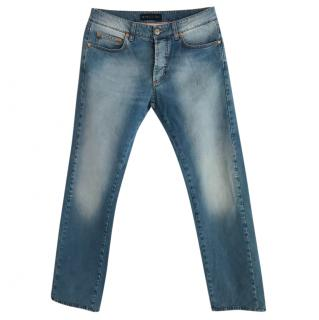ETRO faded jeans