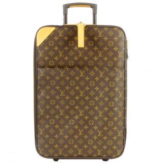 Louis Vuitton Pegase 55 Monogram Suitcase