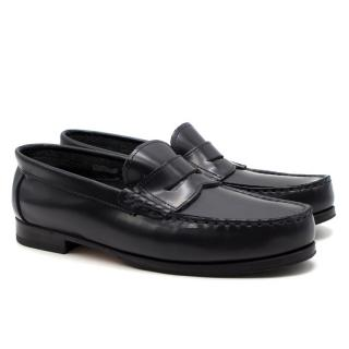 Papouelli London Childrens Navy Loafer