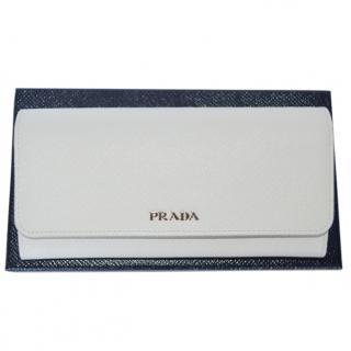 Prada wallet new color talco /black