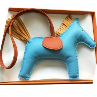 BRAND NEW Hermes Rodeo GM large Horse bag charm