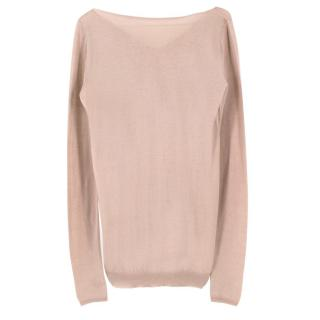Prada Beige Cashmere Sweater