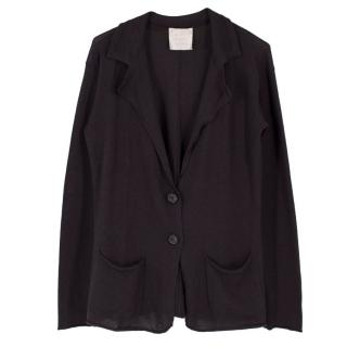 Lanvin Brown Cashmere Cardigan