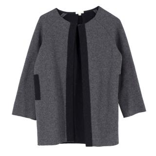 TALC Grey Jacket with Contrast Panelling