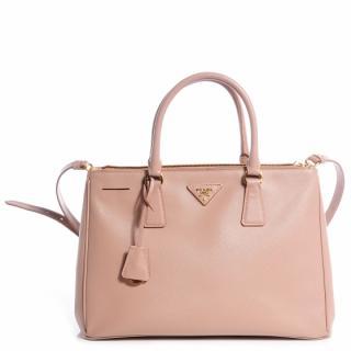 Prada Saffiano Leather Medium Cammeo Handbag