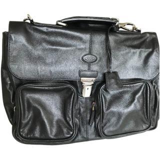 Tods Black Office Bag
