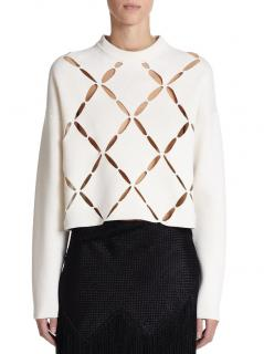 Provenza Schouler Wool cotton Ecru Sweater