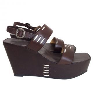 Robert Clergerie platform sandals