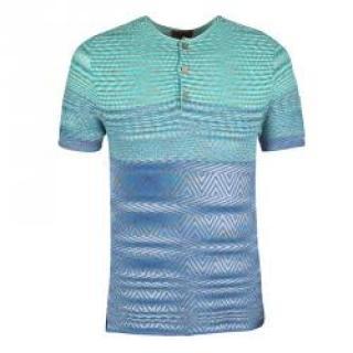 Missoni Blue Knit Top