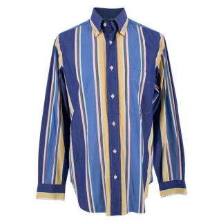 Brioni Classic Multicoloured Striped Shirt