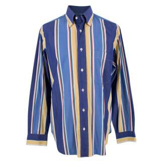 Brioni Classic Multicoloured Striped Shirt