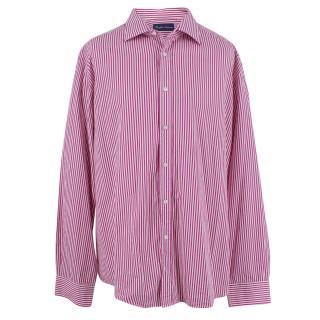 Ralph Lauren Purple Label Pink Striped Shirt