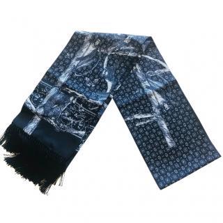 Dolce & gabbana men's silk scarf