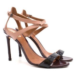 Reed Krakoff Tricolor Ankle Harness Sandal