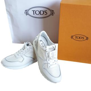 Tod's leather trainers