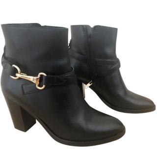 Burberry Horsebit Ankle Boots