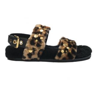 Car Shoe Montone St. Leopardo Sandals